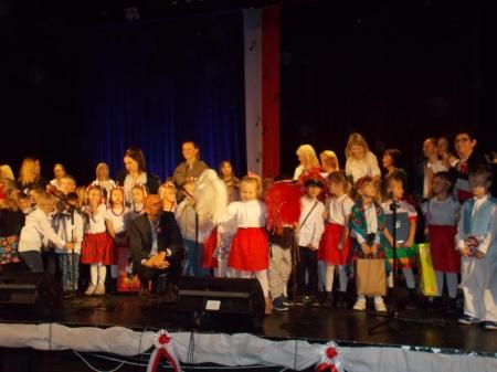 Koncert piosenki patriotycznej przedszkolaków