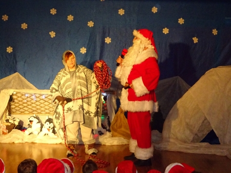 Zabawy z Mikołajem
